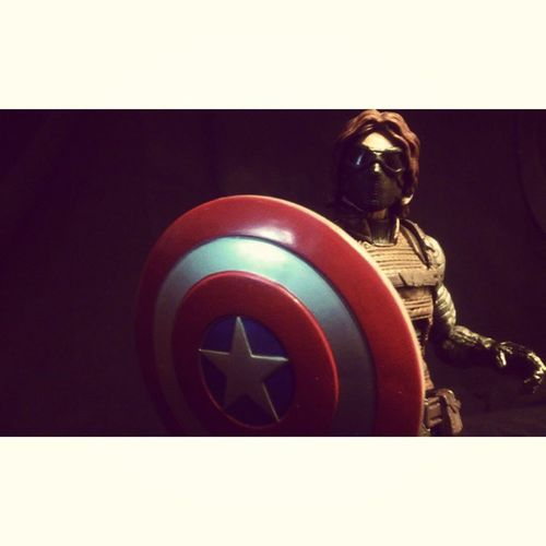 """""""Price of freedom is high,but thats a price im willing to pay"""" WinterSoldier Sebastainstan Buckybarns Bucky Captainmerica Marvel Marvellengends Mcu Figureoftheday Collecting Figurecollecting Havingfun Comics Toys Disney Steverodgers Sheild Captainmericathewintersoldier Hasbro Figures"""