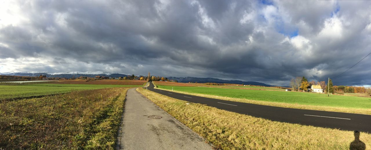 Cloud - Sky Agriculture Field Landscape Sky Nature Rural Scene Panoramic Storm Cloud