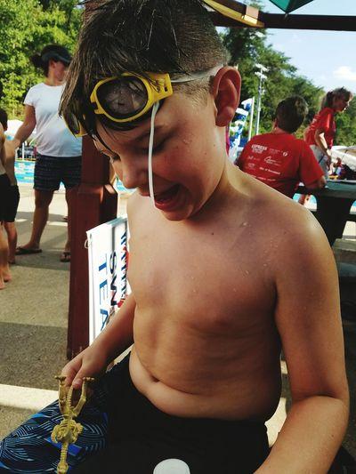 Swim Meet Summer Days