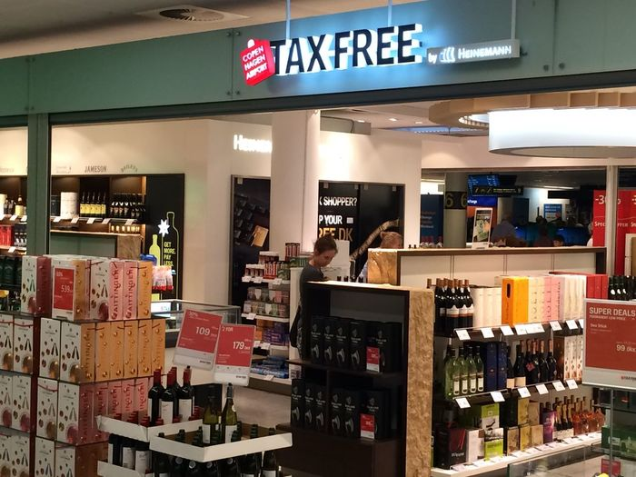 Duty free store at Kastrup airport Duty Free Taxfree Airport Alcohol Alcohol Politics Consumerism Dutyfree Kastrup Retail  Shop Store Tax-free