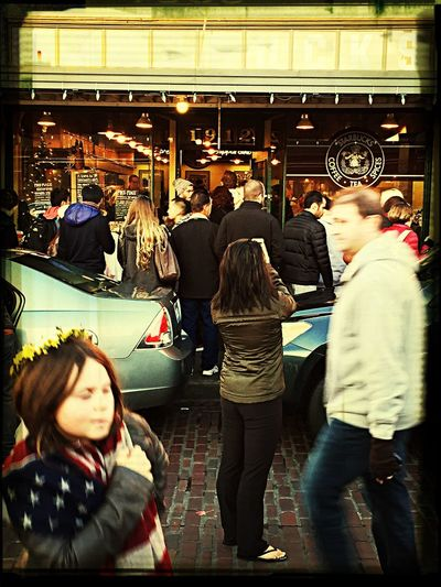 World's First Starbucks - Opened in Seattle in 1912