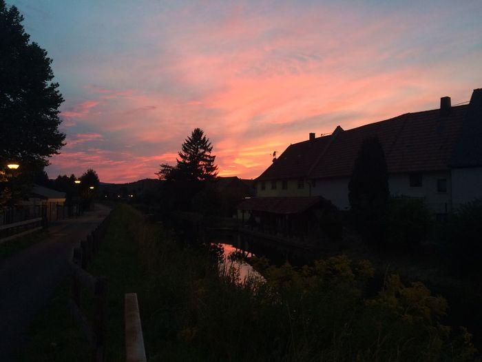 Sunset Sun Pinksky