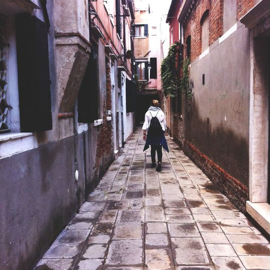 That's Me Exploring Venice Italy Hello World