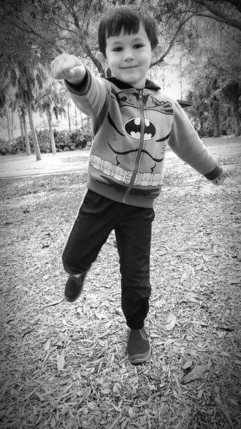 Superhero Pose Hanging Out Taking Photos Check This Out Relaxing Enjoying Life Kid Smiling Smile Capture The Moment Kids Having Fun Showcase: February Blackandwhite B&W Portrait Fun Park The Portraitist - 2016 EyeEm Awards