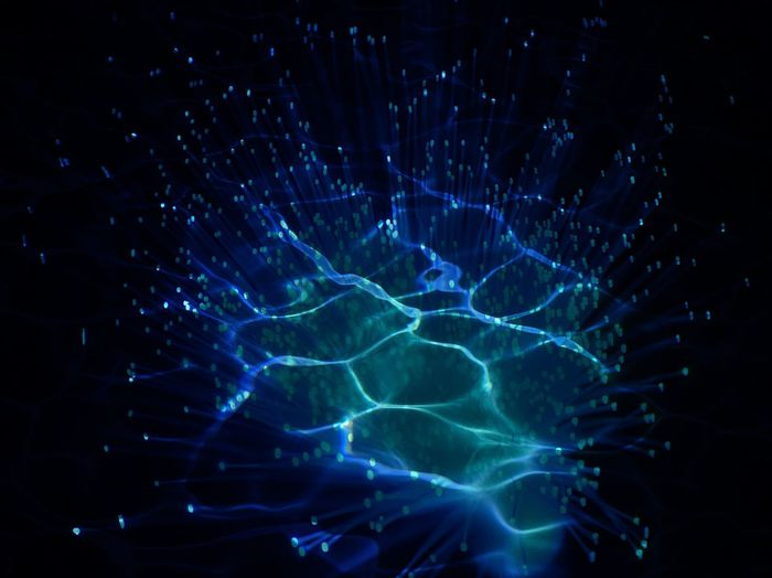 Fiber Optic Blue No People Pattern Illuminated Motion Water Night Glowing Nature Light - Natural Phenomenon Close-up Abstract Long Exposure Outdoors Backgrounds Transparent Blurred Motion Underwater Black Background