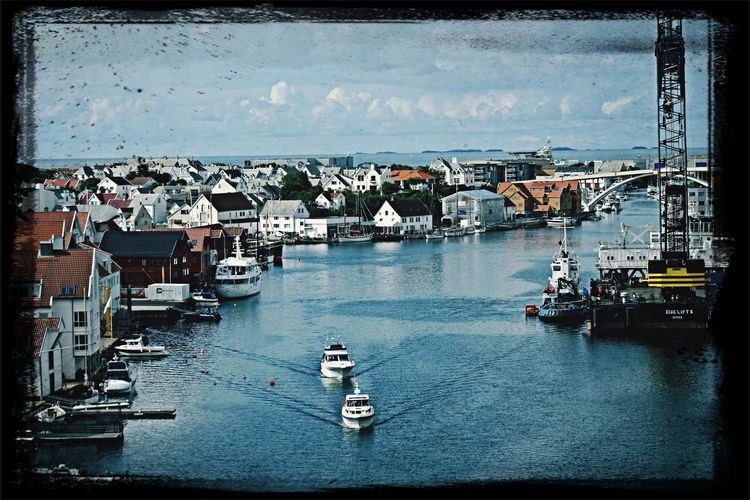 Norway,Haugesund Walking Around