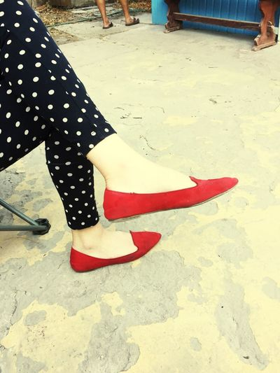 The Pris red shoe