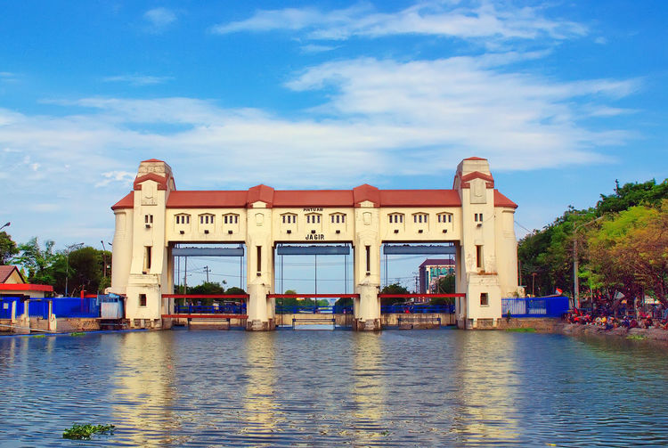 Architecture Building Exterior Built Structure City Cloud - Sky Dam Jagir Damjagir Day Jagirwatergate Nature Nautical Vessel No People Outdoors Sky Tree Water Waterfront