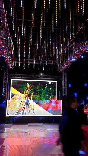 Palacio Sans Souci Dancing Floor Mural Led Led Wall Party Time Disco Disco Lights
