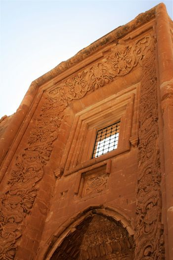 Ishak Pasha Palace Turkey Dogubayazit Ancient Civilization Architecture Building Exterior Built Structure Clear Sky History Low Angle View No People