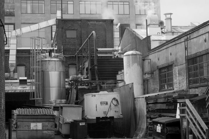 Steam rising Portland Industrial Photography Streetphotography Blackandwhite Bnw Downtown Work Steam Oregon Portland, OR EyeEmNewHere