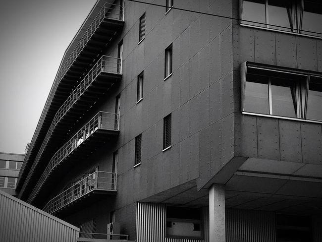 Technopark Zürich Urban Architecture Black And White Gray
