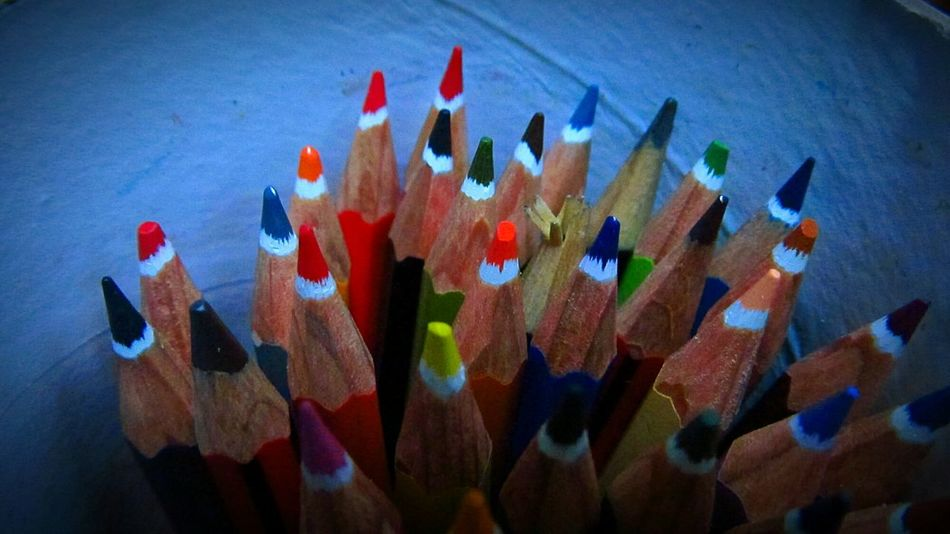 Beautifully Organized Pencil Drawing Pencils Multi Colored Variation No People Life Simplicity Freedom Imagination Creativity Nice Colors Colorful Creation Wood Wood - Material Pencilwork Art ArtWork Drawing Dream Tranquility Objects