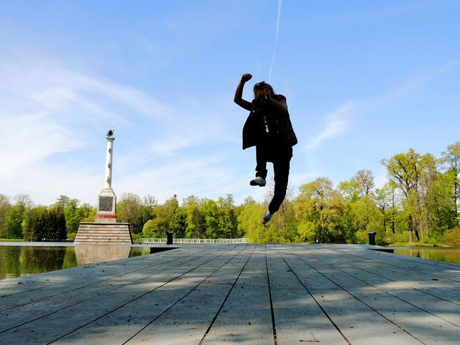 Magic Johnson Jumper Jump! Daughter Sankt-peterburg Pushkin  Happy :) Garden Streetphotography The Outdoors - 2016 Eyeem Awards Park In Forest Need For Speed