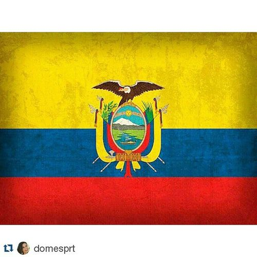 Repost @domesprt ・・・ Ecuador Latri CopaAmérica Sisepuede MiPais ❤