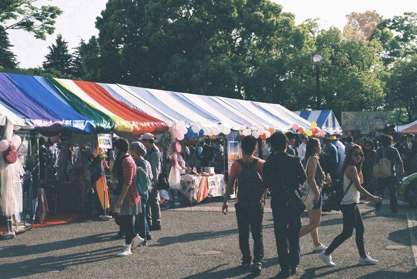 20160507 Tokyo Rainbow Pride 東京レインボープライド at Yoyogi Park 代々木公園 Tokyo,Japan 東京 日本 Lgbt Lgbt Pride Lgbtaiq Canon F-1 Film Photography 35mm Film セクマイ