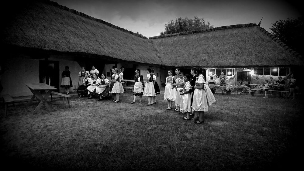 Made by Sony Xperia XZ Grass Hungarian Folklore Rural Szombathely Tradition Traditional Culture Traditional Clothing Hungarian Night People Photographer Skansen Thatched Roof Traditional Architecture Traditional Wedding Traditonal