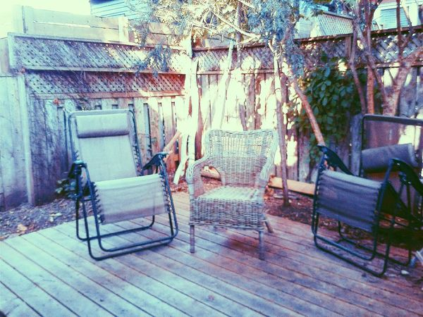 Showcase March Deck Backyard Deck Chairs Transat Sunny Day Wooden Deck The Architect - 2016 EyeEm Awards The Essence Of Summer Pastel Power Armchairs Relaxing Garden Photography Colour Of Life Lieblingsteil Millennial Pink