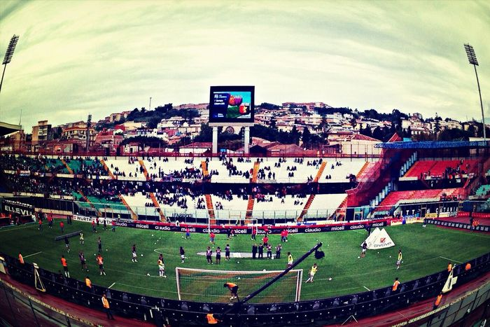 Stadium Calciocatania SerieA Fisheye