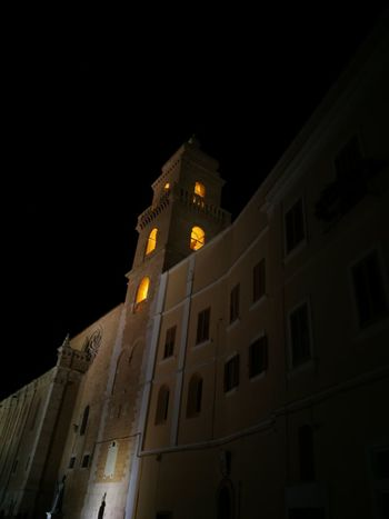 Architecture Night Travel Destinations Gravinainpuglia Chiesa Tourism Architecture Vacanza Religion History Reperti Storici Gravina In Puglia Spirituality Bell Tower - Tower Gravina