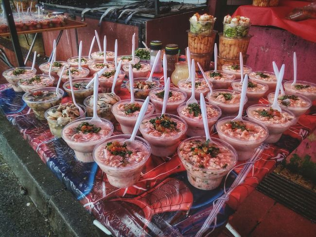 Angelmo Variation Large Group Of Objects Food Ready-to-eat Market Abundance For Sale Freshness Cevicheria Food Art Tranquility EyeEmNewHere Chile Eyeem Market ZTEphotography Comidas Tipicas Mercado Landscape_Collection