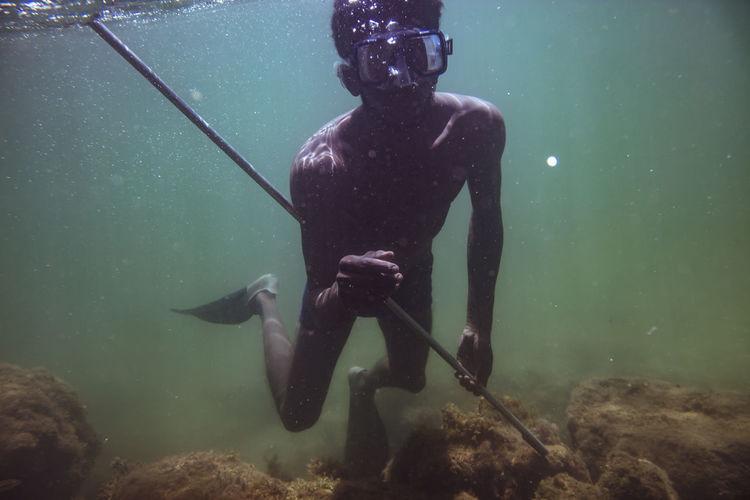 #Trinidad #Redfishisland #divingtt #ddi Adventure Fishing Free Diving Leisure Activity Lifestyles One Person Real People Scuba Diver Scuba Diving Water