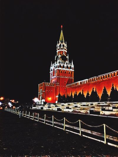 часы красная площадь вечер прогулка прогулки по москве