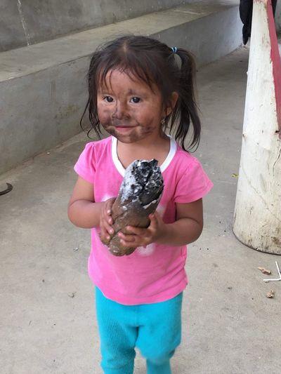Girl Childhood Inocentchild Smiling