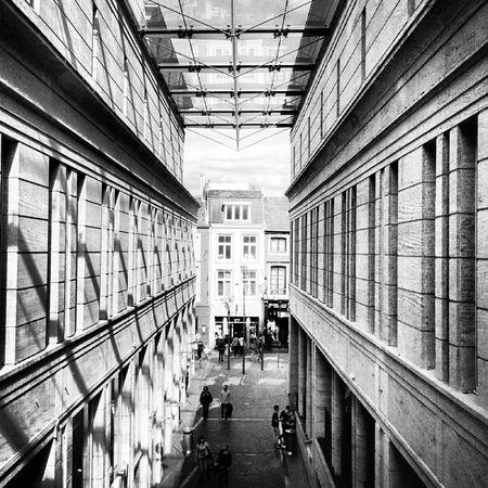 in the focus Maastricht Blackandwhite Architecture_bw Architecture