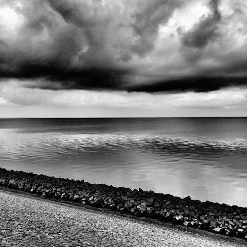 Glatte See Texel