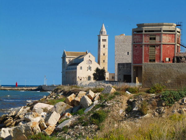 Abandoned Abandoned Buildings Abandoned Places Architecture Background Building Exterior Built Structure Church Clear Sky Contrast Day Nature No People Old Buildings Old City Outdoors Sea Soceity Water