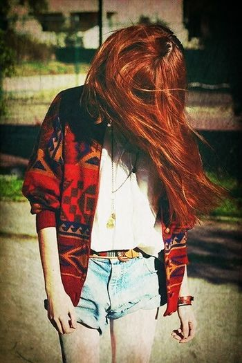 Me With Red Hair Hipster Style Bad Dürkheim At Home