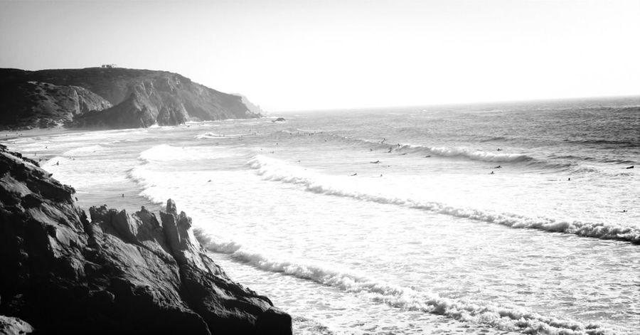 Blackandwhite Vintage Surfing Beachphotography