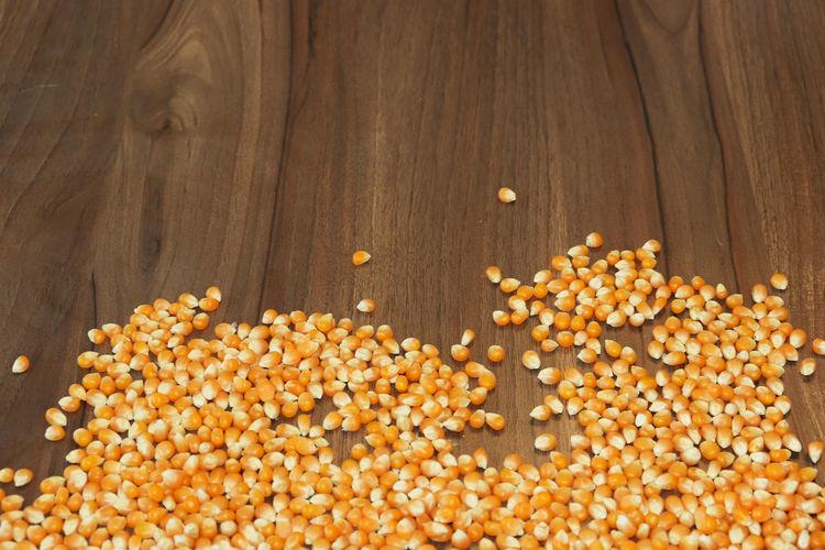 Corn kernels in