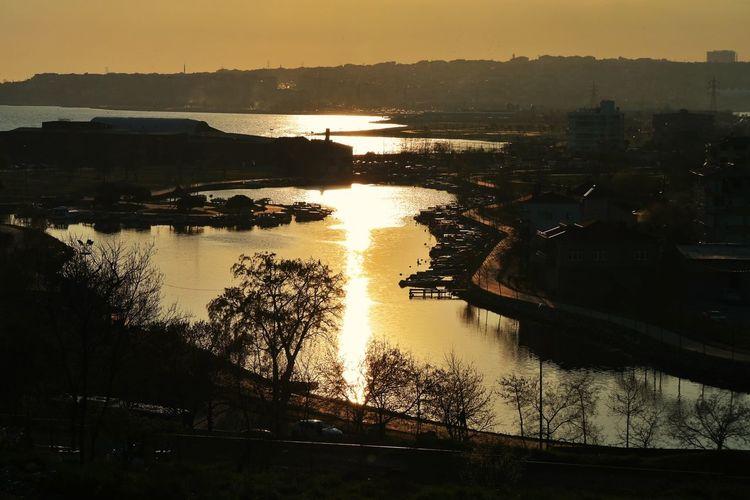 Istanbul Sunset Küçükçekmece