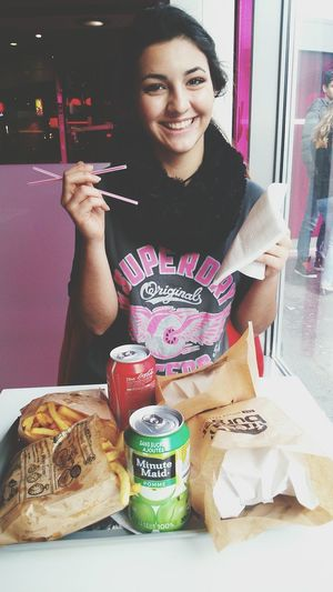 Lovely saturday ❤ Shopping Pornfood Burgers Friend Sweetmoment