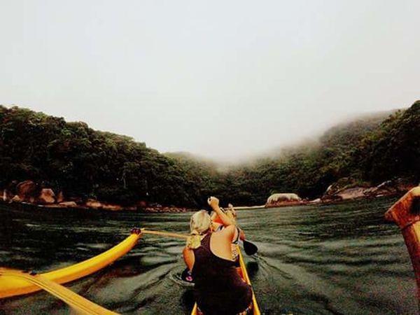 Outrigger Canoe Gopro Aloha Oceanatlantic