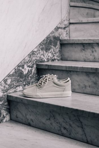 Out Of The Box Steps No People Day Built Structure Outdoors Architecture Close-up Sneakers Vans Marble