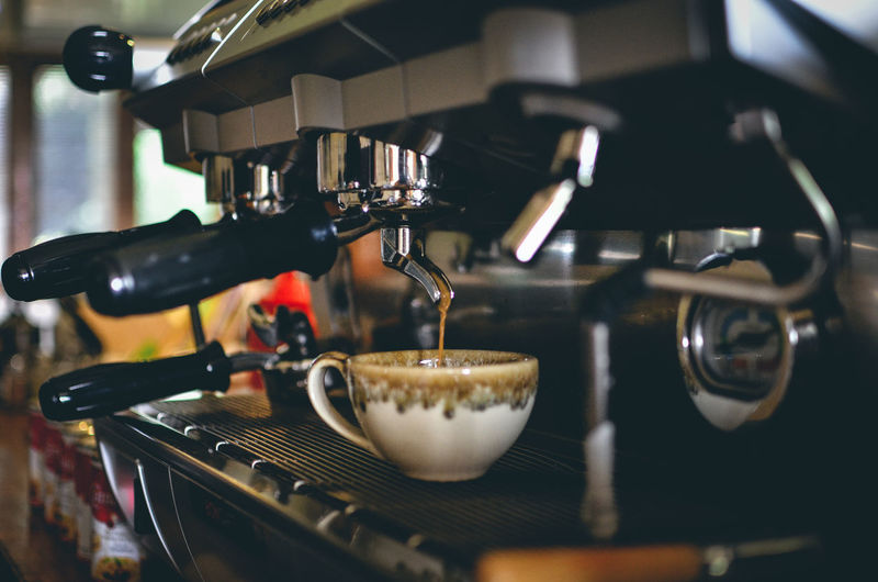 coffee Coffee Coffee Maker Food And Drink Coffee - Drink Espresso Maker Appliance Cafe Drink Indoors  Coffee Cup Refreshment Espresso Preparation  Mug Machinery Making No People Selective Focus Cup Barista Close-up Coffee Shop