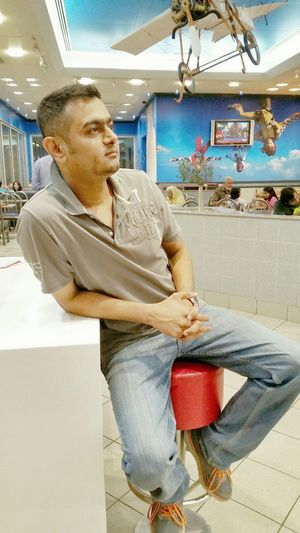 Cool Dude Casual Smart SundayFunday Watching Tv Friend Fcuk Being Human Karachi Liberal Public Places