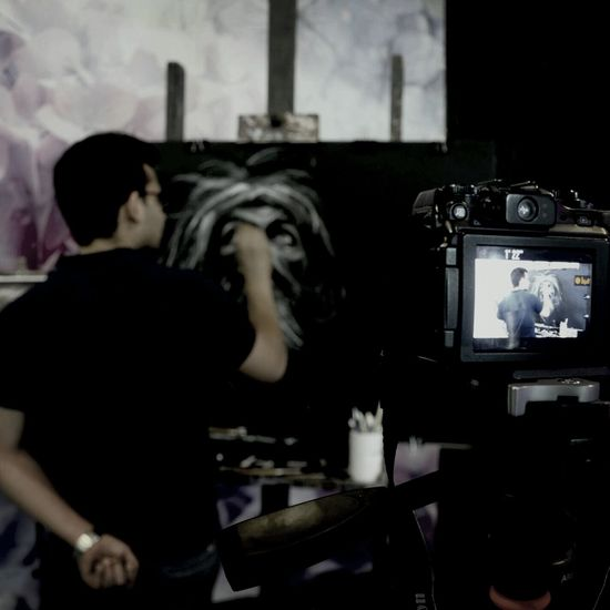 m.zare zadeh/workshop painting Portrait Drawing Chalk Pastel Art  Art, Drawing, Creativity Art Gallery