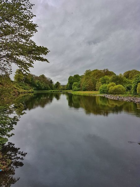 Reflection Water Outdoors Beauty In Nature Tranquility Tranquil Scene Landscape_photography Water_collection Eye4photography  EyeEm Gallery Nature river tweed beside melrose