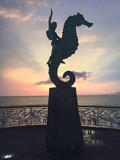 Hidden Gems  Vallarta,Mexico Malecón, Puerto Vallarta. Sunset Mexico De Mis Amores Puerto Vallarta