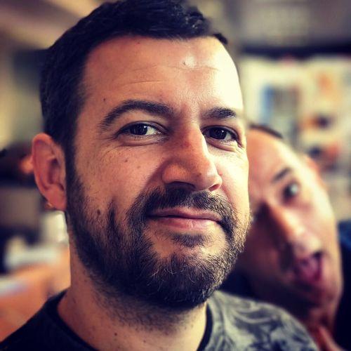 Beard Portrait With My Friend Betto Working 🎥🎬👍💪💪