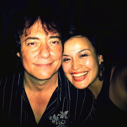 Con Abelardo