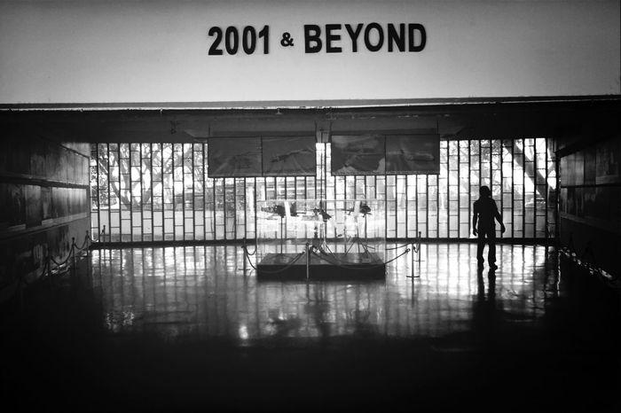To beyond . Silhouette Black & White Light Popular Photos