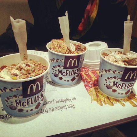 McFlurry  Icecream Dondurma Glace