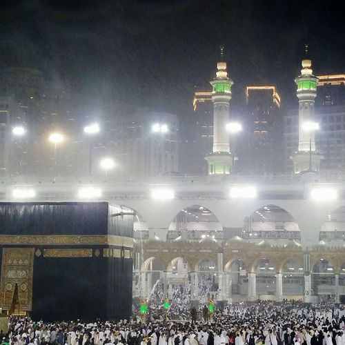 Rain in AlKa'abah💖 Rain Ka'aba The Holy Ka'aba Mecca Mecca Al-mukarramah