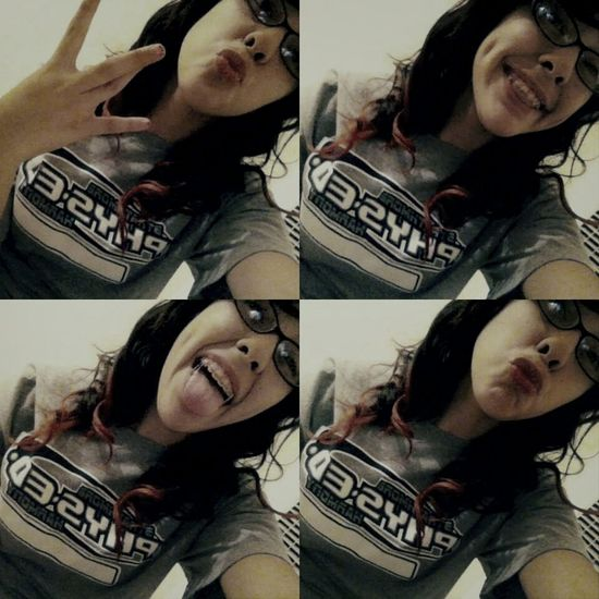 I like how my dimples came out Westside Ducklipssss❤ Smiling ^_^ BeingMyself