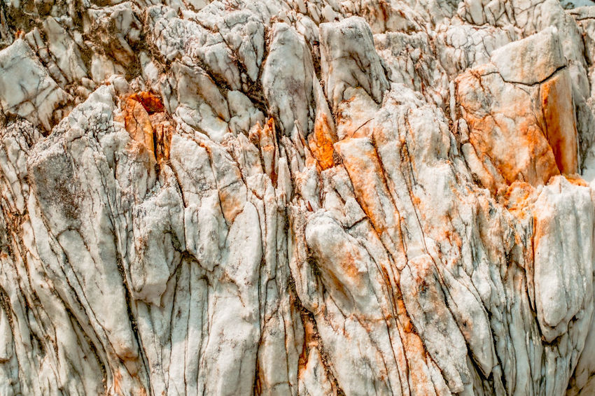 Natural white rock with orange spots Natural Beauty Rock Formation Stone Formation Natural Background Orange Spots Rocks White Rock White Stone